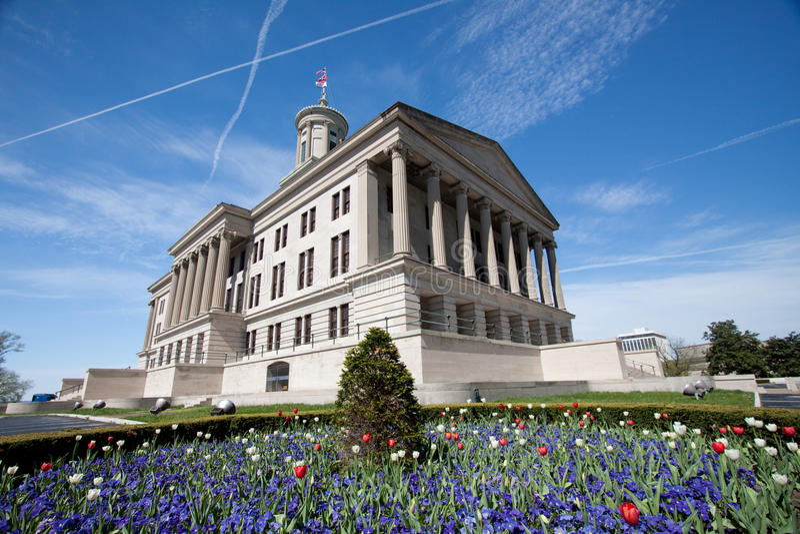 Capitolio de Tennessee fotografía de archivo libre de regalías