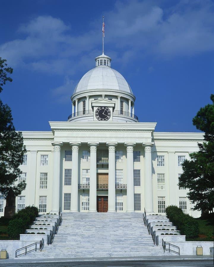 Capitolio del estado de Alabama fotos de archivo libres de regalías