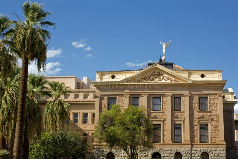 Capitolio del estado de Arizona imagen de archivo libre de regalías