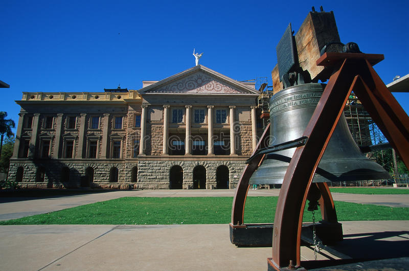 Capitolio del estado de Arizona foto de archivo libre de regalías