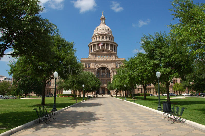 Capitolio del estado de Austin, Tejas fotografía de archivo libre de regalías