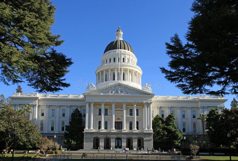 Capitolio del estado de California imágenes de archivo libres de regalías