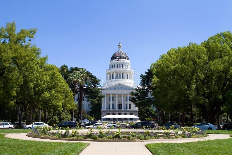 Capitolio del estado de California fotografía de archivo