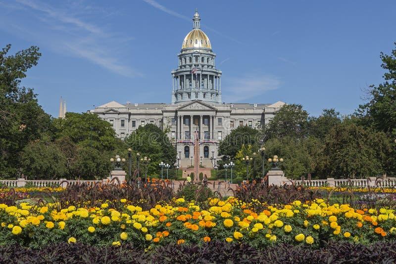 Capitolio del estado de Colorado fotografía de archivo
