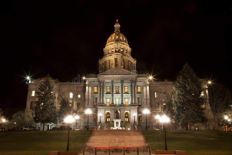 Capitolio del estado de Colorado en Denver foto de archivo