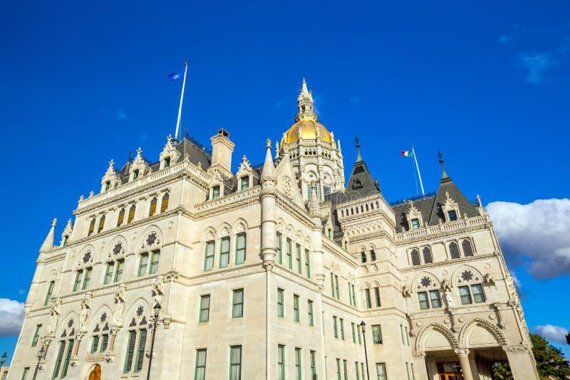 Capitolio del estado de Connecticut en Hartford, Connecticut foto de archivo libre de regalías