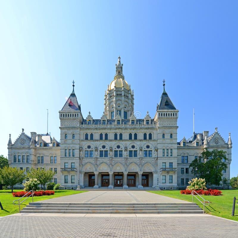 Capitolio del estado de Connecticut, Hartford, CT, los E.E.U.U. imagenes de archivo