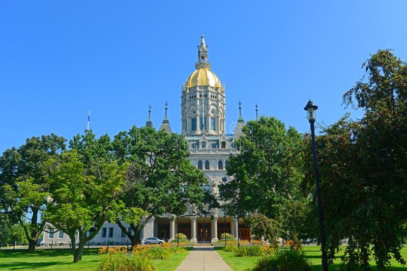 Capitolio del estado de Connecticut, Hartford, CT, los E.E.U.U. foto de archivo