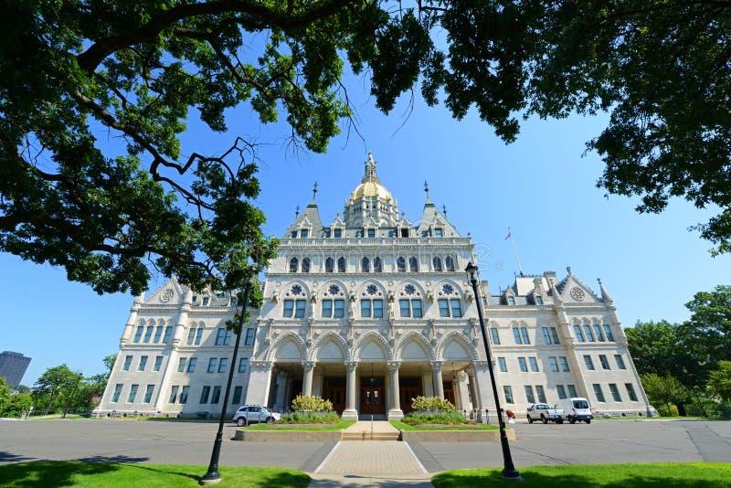 Capitolio del estado de Connecticut, Hartford, CT, los E.E.U.U. imágenes de archivo libres de regalías