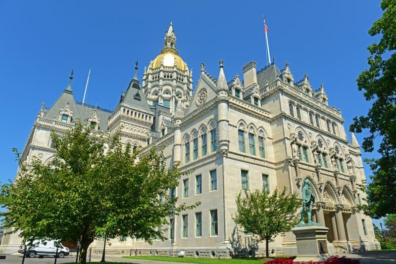 Capitolio del estado de Connecticut, Hartford, CT, los E.E.U.U. fotos de archivo