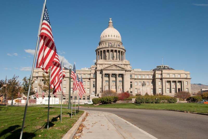 Capitolio del estado de Idaho fotos de archivo libres de regalías
