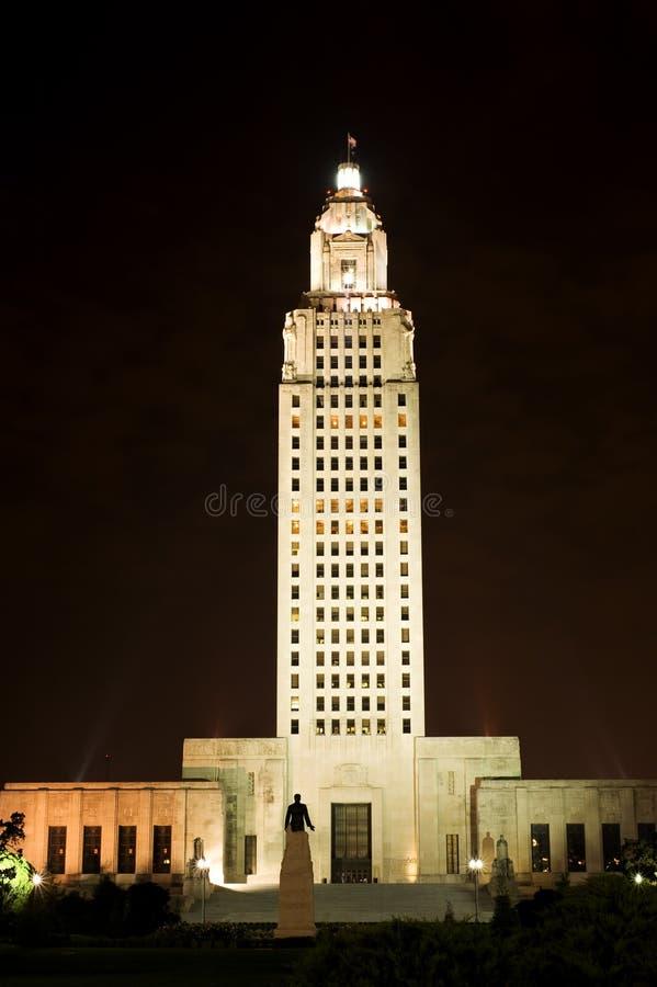 Capitolio del estado de Luisiana fotografía de archivo libre de regalías