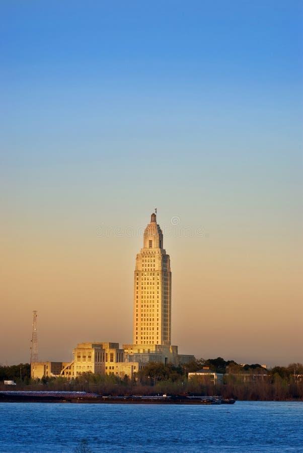 Capitolio del estado de Luisiana imagenes de archivo