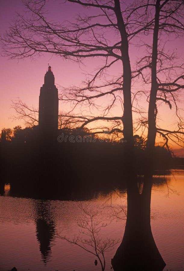 Capitolio del estado de Luisiana fotos de archivo