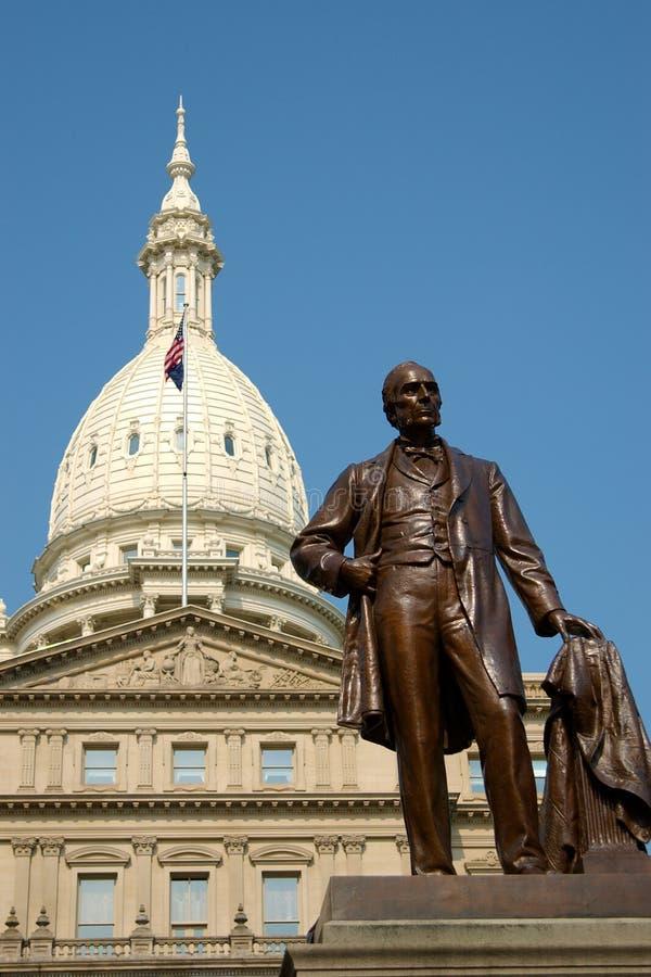 Capitolio del estado de Michigan que construye 1 foto de archivo