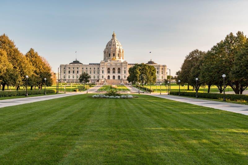 Capitolio del estado de Minnesota fotografía de archivo