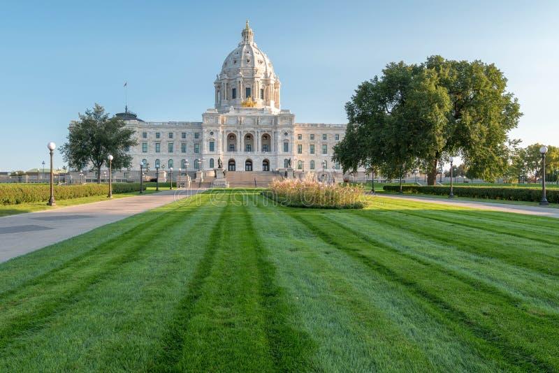 Capitolio del estado de Minnesota fotos de archivo libres de regalías