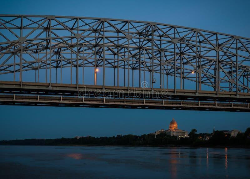 Capitolio del estado de Missouri fotografía de archivo libre de regalías