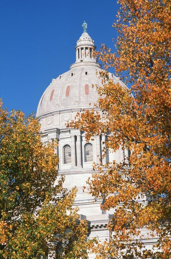 Capitolio del estado de Missouri, Jefferson foto de archivo libre de regalías