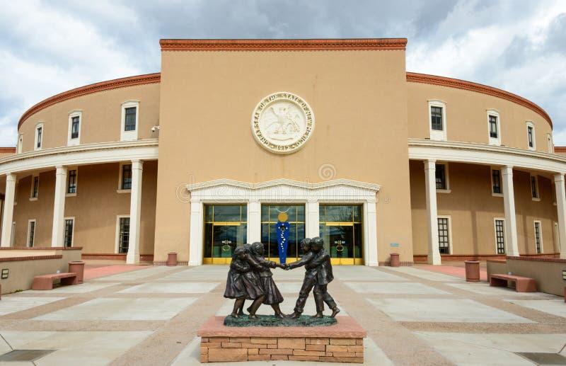 Capitolio del estado de New México fotografía de archivo
