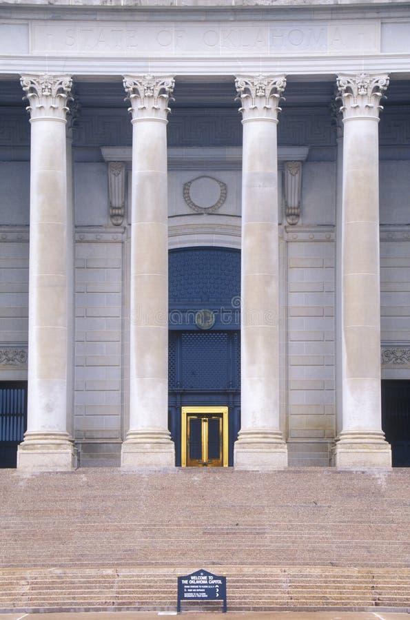 Capitolio del estado de Oklahoma fotografía de archivo
