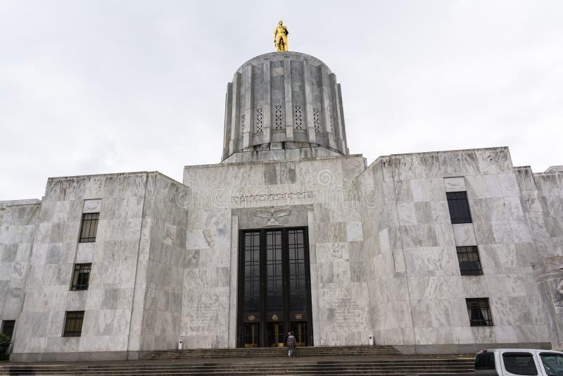 Capitolio del estado de Oregon, Salem imagen de archivo libre de regalías