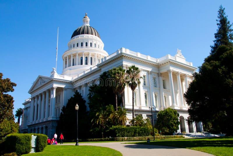Capitolio del estado de Sacramento imagen de archivo libre de regalías