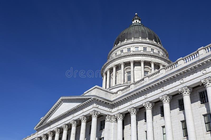 Capitolio del estado de Utah imágenes de archivo libres de regalías