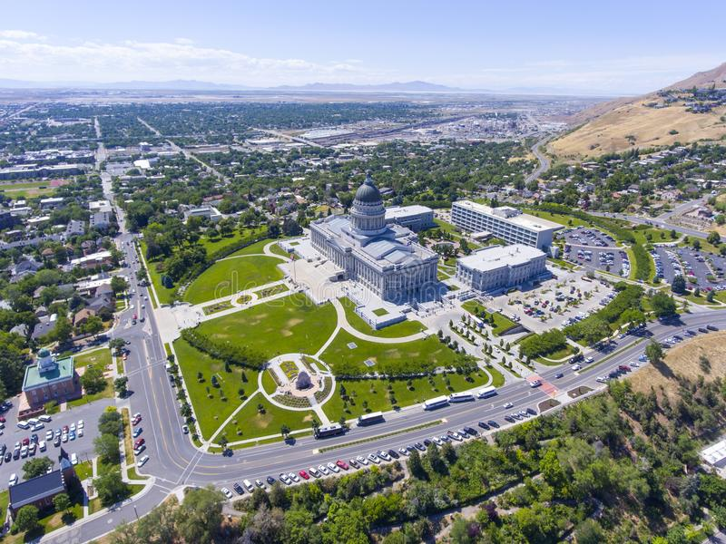 Capitolio del estado de Utah, Salt Lake City, los E.E.U.U. fotos de archivo
