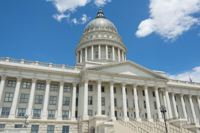Capitolio del estado de Utah, Salt Lake City, los E.E.U.U. fotografía de archivo libre de regalías