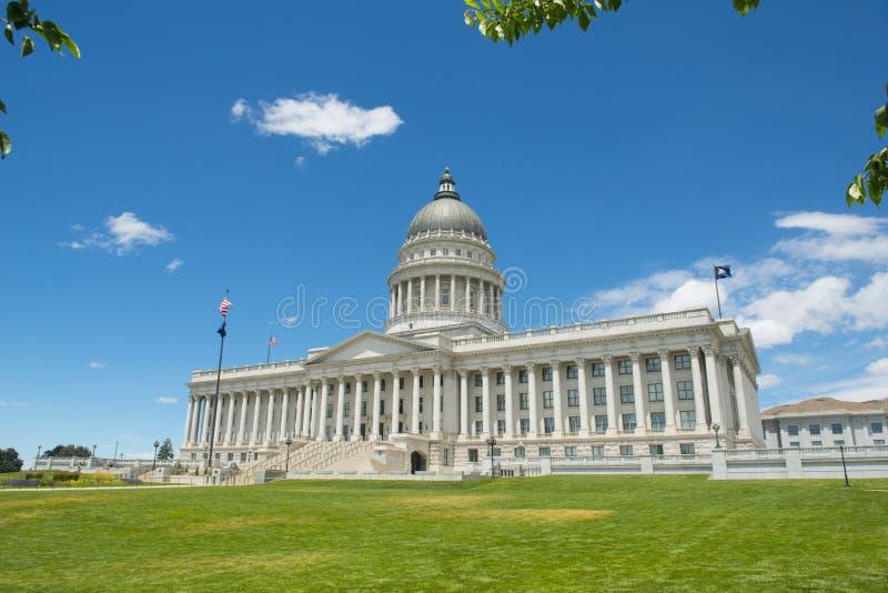 Capitolio del estado de Utah, Salt Lake City, los E.E.U.U. imagen de archivo libre de regalías
