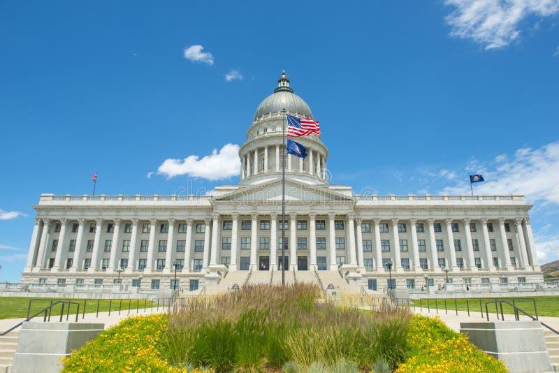 Capitolio del estado de Utah, Salt Lake City, los E.E.U.U. foto de archivo