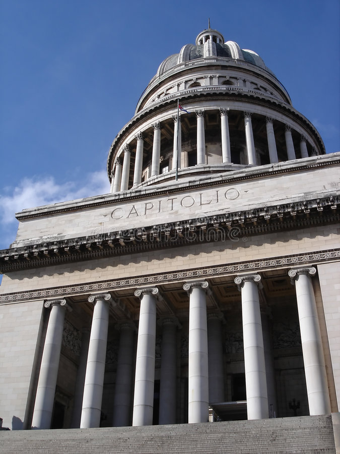 Capitolio du Cuba photo stock