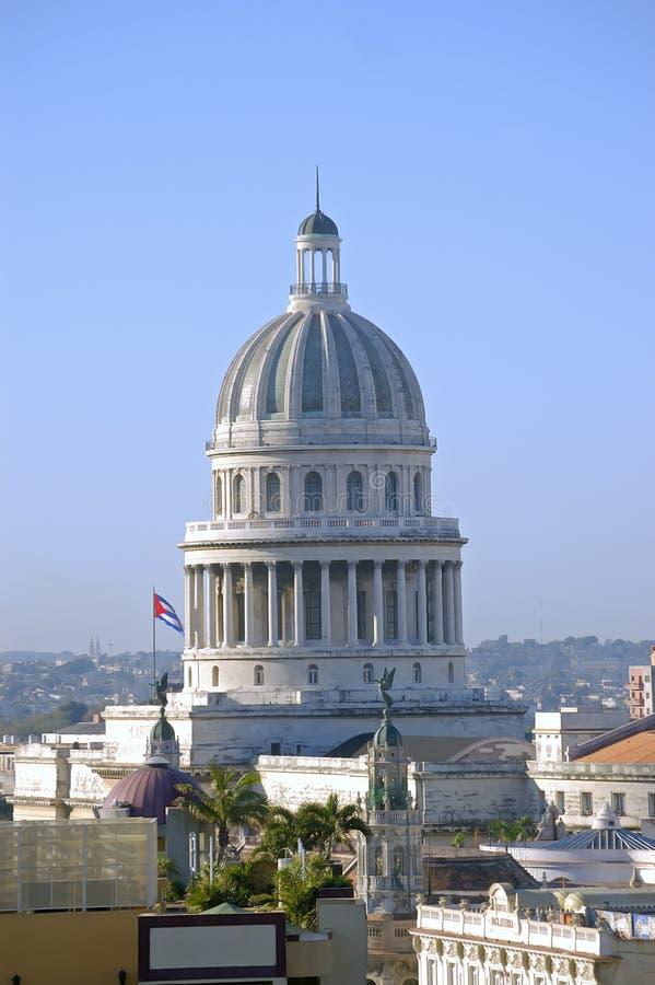 Capitolio en La Habana, Cuba imagen de archivo libre de regalías