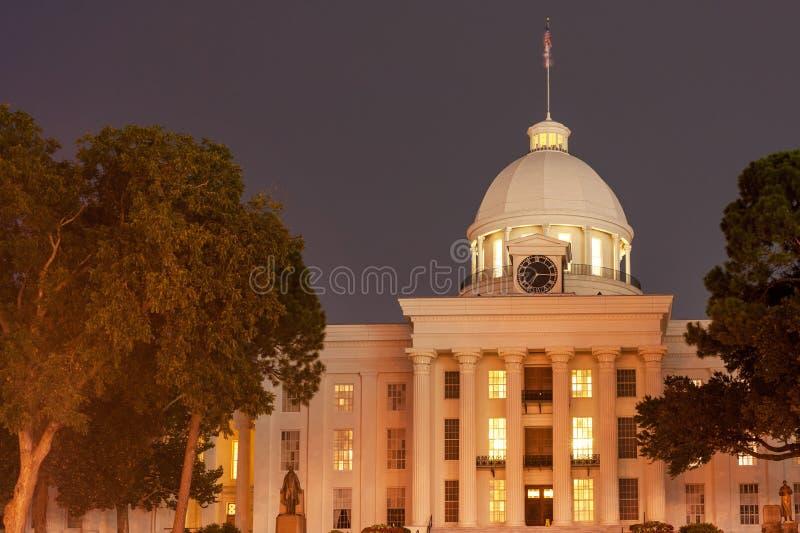 Capitolio estatal de Alabama fotos de archivo libres de regalías