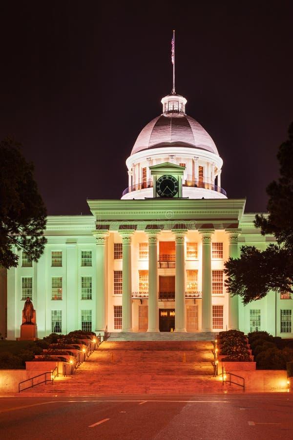 Capitolio estatal de Alabama imagen de archivo libre de regalías