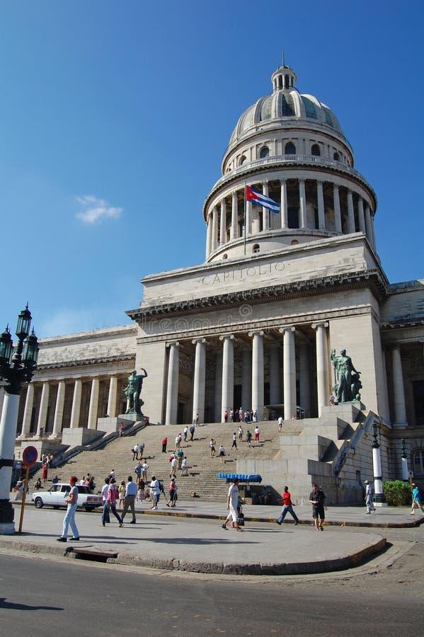Capitolio, La Habana imágenes de archivo libres de regalías