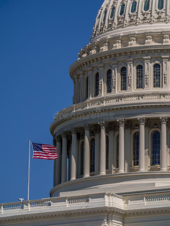Capitolio nacional de los E.E.U.U. en Washington, D C fotos de archivo libres de regalías