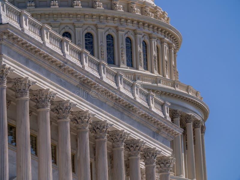 Capitolio nacional de los E.E.U.U. en Washington, D C fotografía de archivo libre de regalías