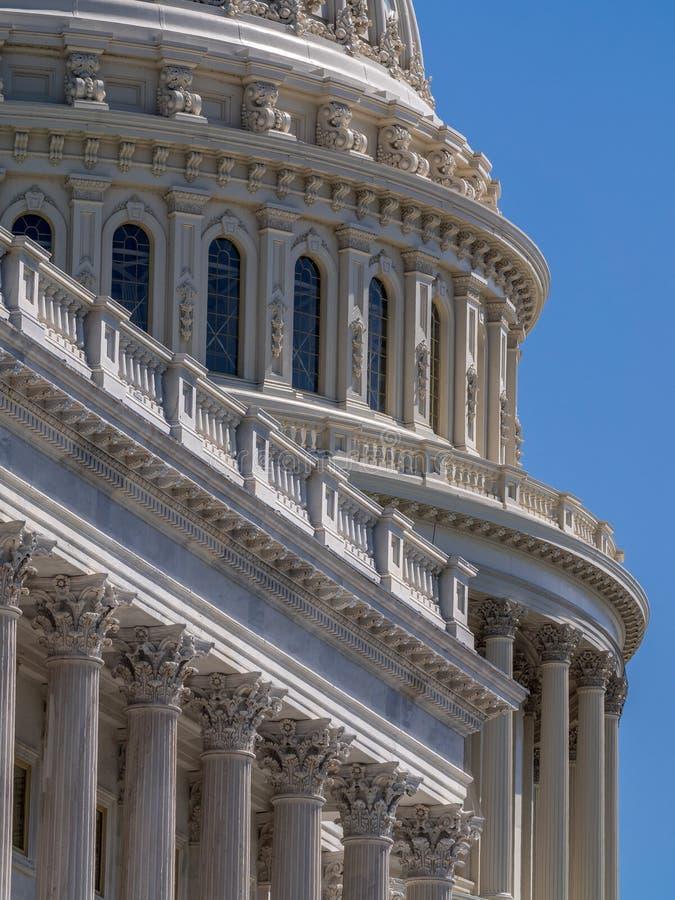 Capitolio nacional de los E.E.U.U. en Washington, D C foto de archivo libre de regalías