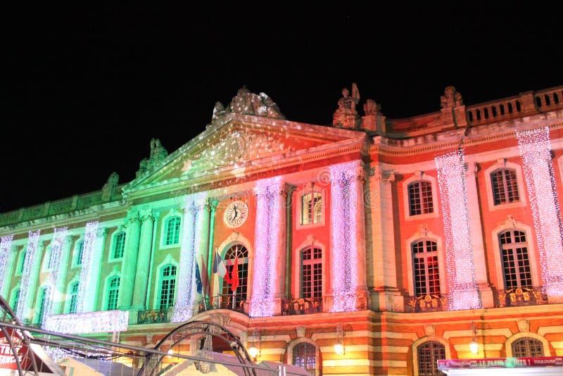 Capitolio, Toulouse imágenes de archivo libres de regalías