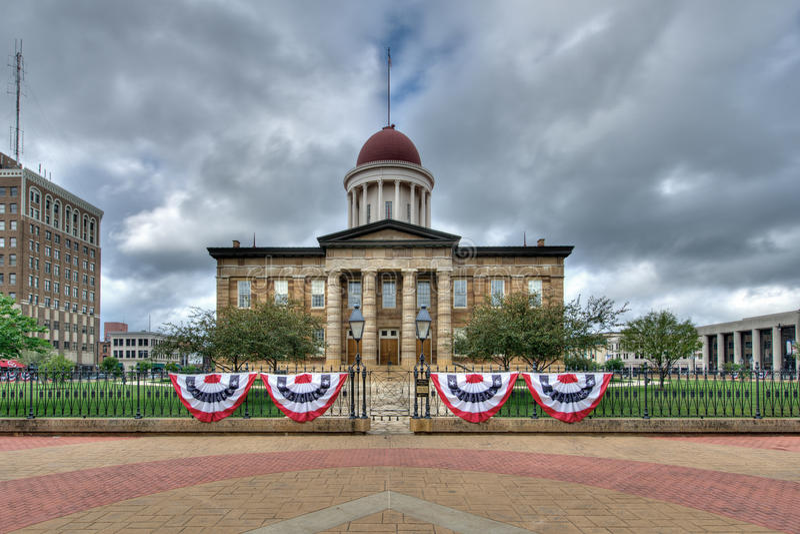 Capitolio viejo del estado fotos de archivo libres de regalías