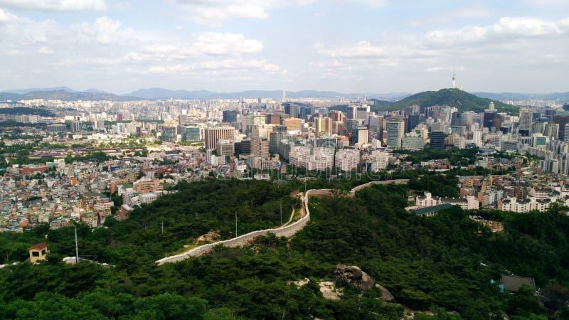 capitolstadscroatia panorama zagreb arkivbild