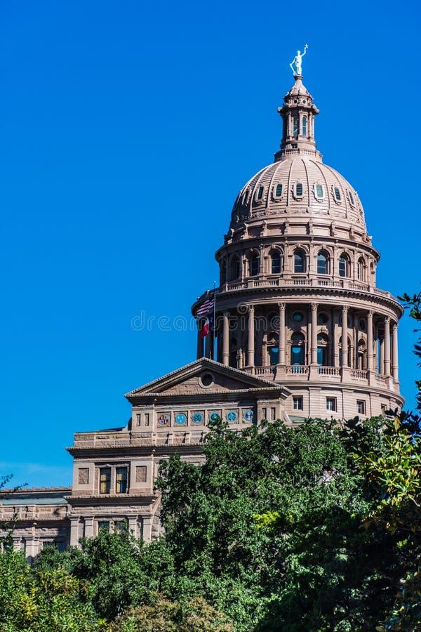 capitoltillstånd texas arkivfoto