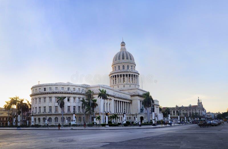 Capitoly aufbauendes Havana stockfotografie
