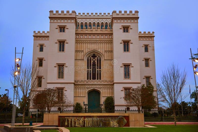 Capitool Baton Rouge de V.S. van de Staat van Louisiane het Oude royalty-vrije stock foto's