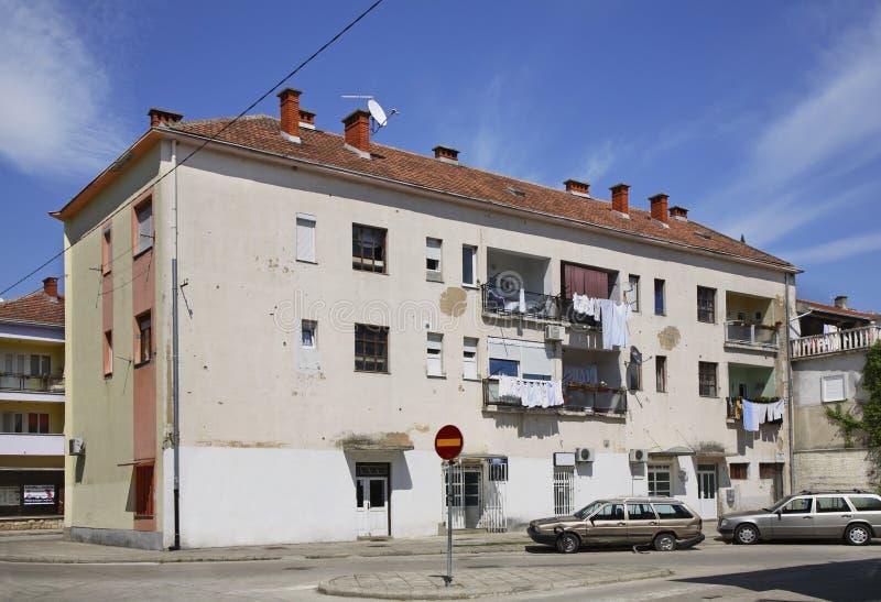 Caplina stad stämma överens områdesområden som Bosnien gemet färgade greyed herzegovina inkluderar viktigt, planera ut territorie arkivbilder