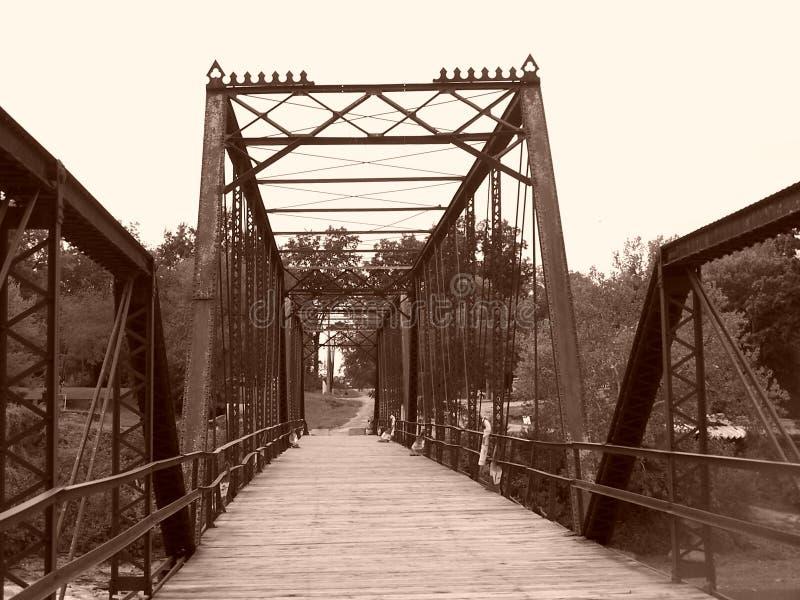 Caplinger Mills Bridge Wildlife Area stock afbeelding