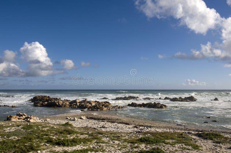 Capo Agulhas, Sudafrica. fotografie stock libere da diritti