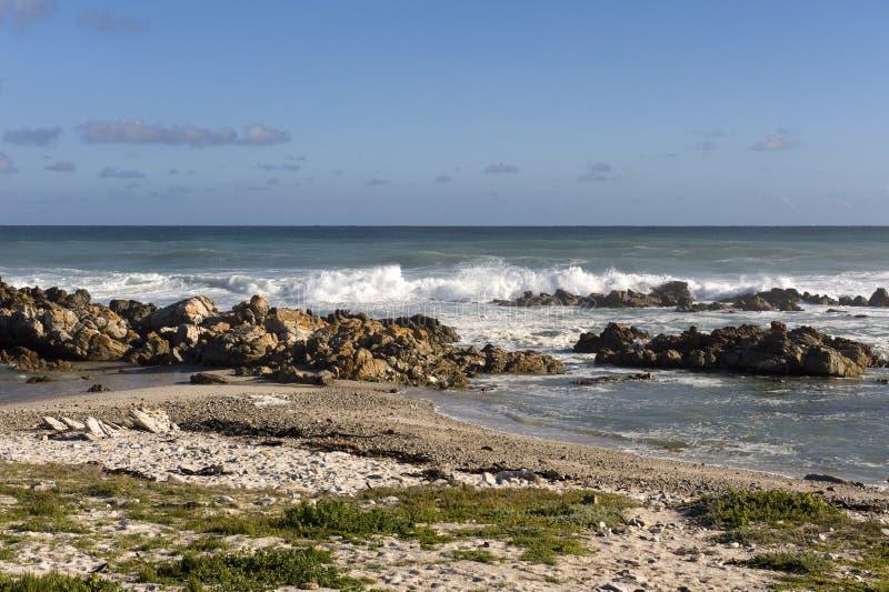 Capo Agulhas, Sudafrica. fotografia stock